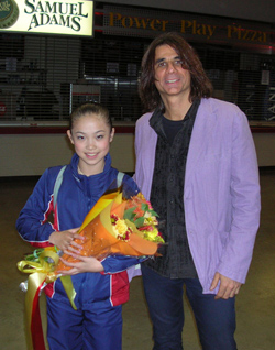 Ray DeTone and Caroline Zhang at Skate America october 2007